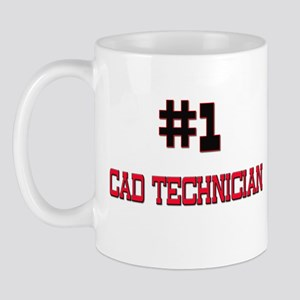 Number 1 CAD TECHNICIAN Mug